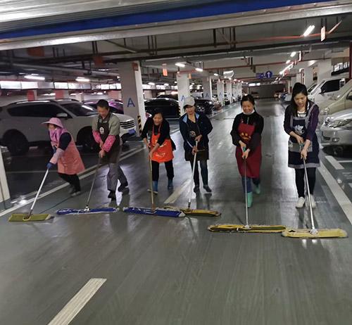 贵州地下室保洁