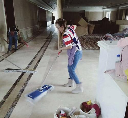 贵州售楼部地面保洁
