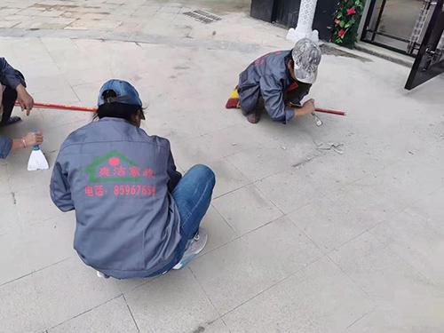 小区亚洲保洁