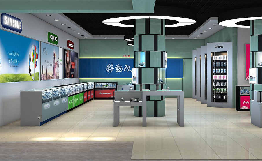 贵州电器展柜装饰的高端大气范所具备的吸引力优势特点