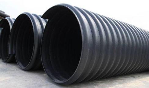 钢带增强hdpe螺旋波纹管厂家