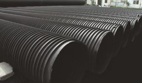 HDPE塑钢缠绕管道