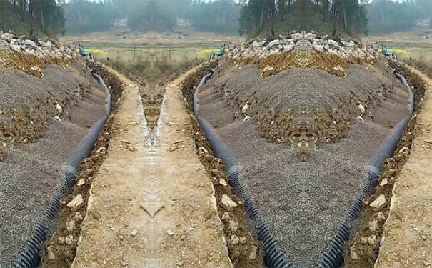 在观山湖区做的波纹管项目