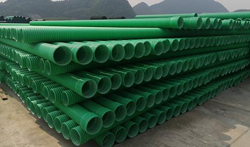梁平排水排污改性双壁波纹管