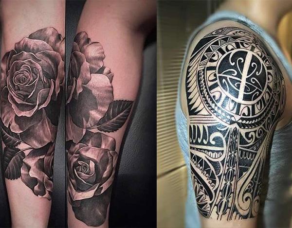 贵阳手臂纹身1