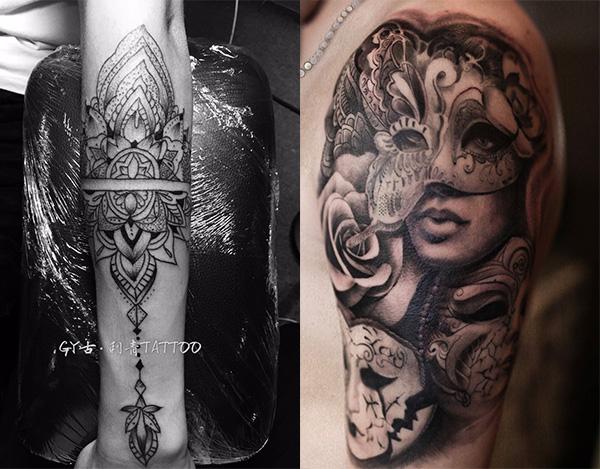 花果园手臂刺青