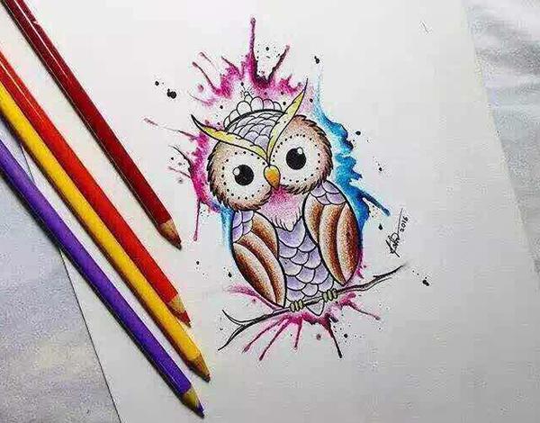 小清新纹身图案1