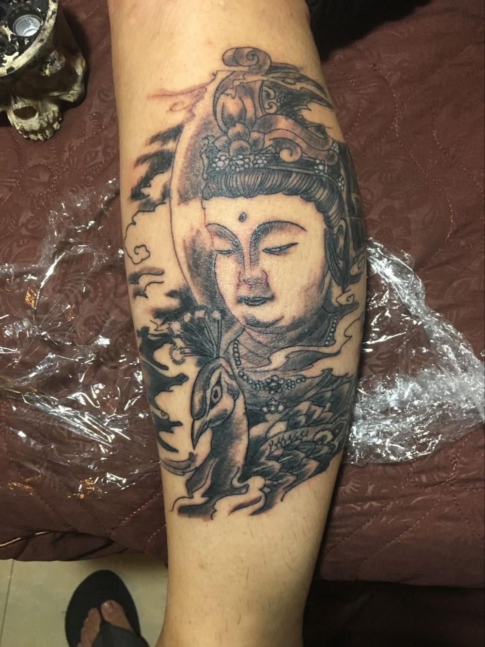 人皮刺青纹身4