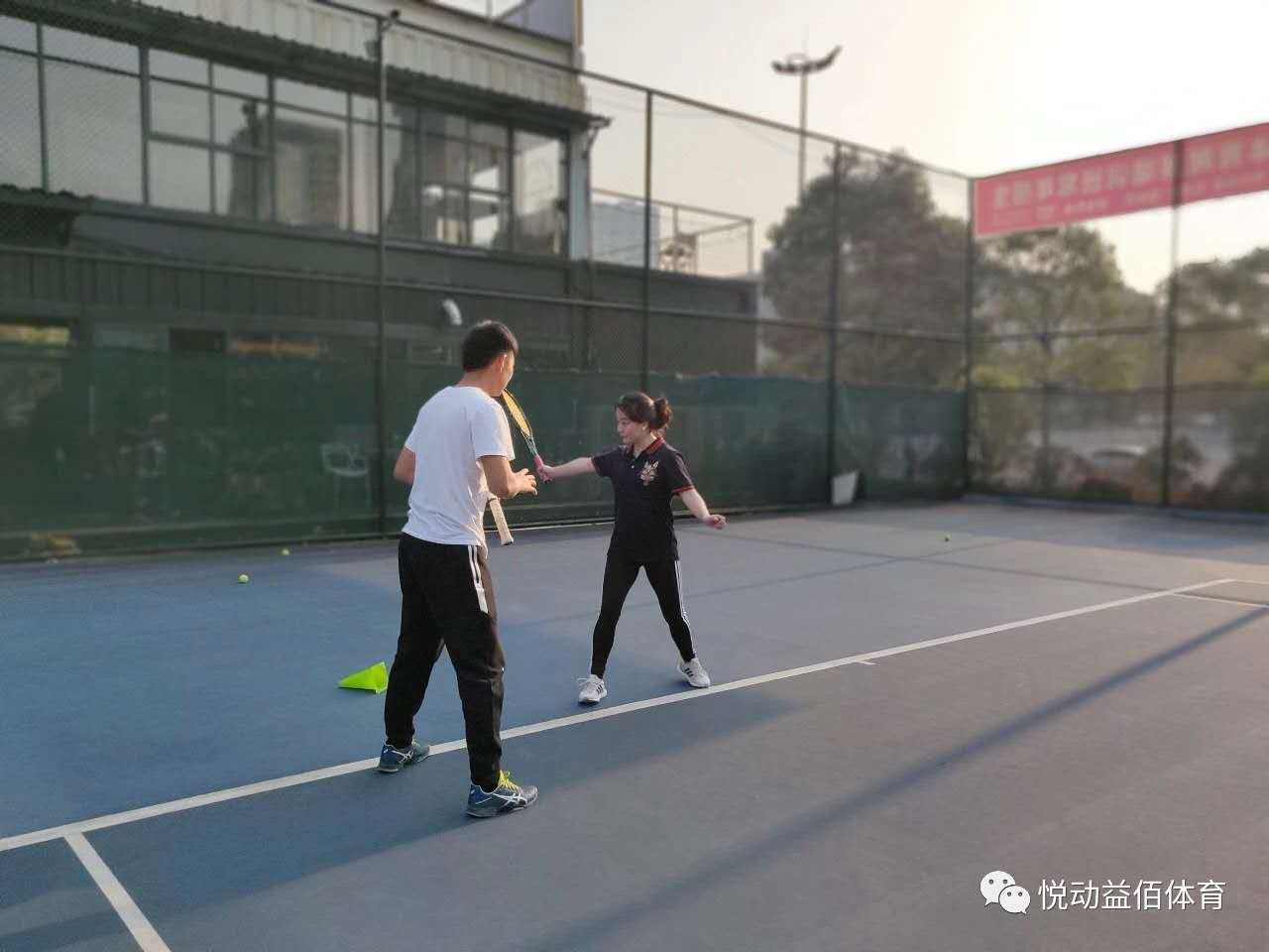 成人私教网球培训