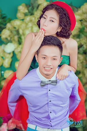 冯伟-张丽琴,名爵棋牌婚纱摄影〓工作室
