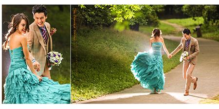 名爵棋牌故事风格婚纱拍摄