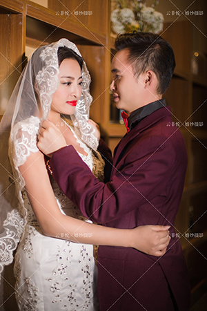羅先生&雍女士——貴陽婚紗攝影店