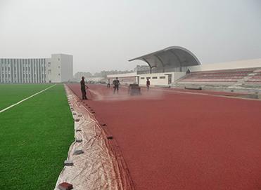 塑胶跑道环氧地坪案例