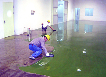 环氧树脂地坪施工案例