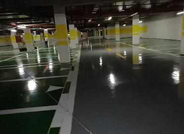 停车场地坪施工案例