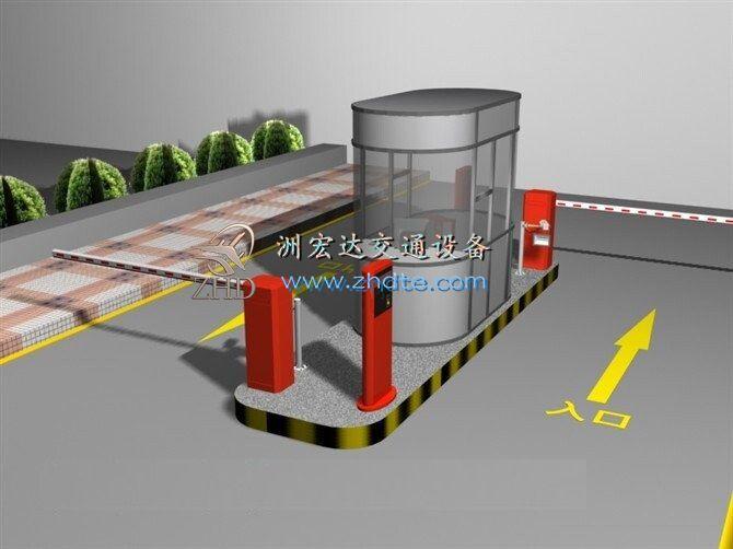 和记怡情h88 停车场系统022