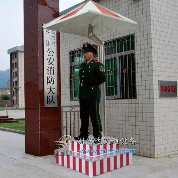 贵阳站岗岗亭定制
