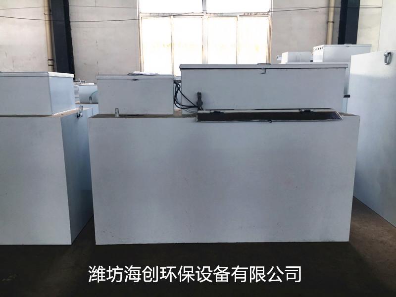 【小型食品污水处理设备】操作规程