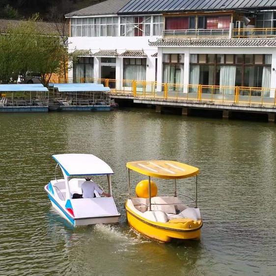 休闲山庄-水上电动船