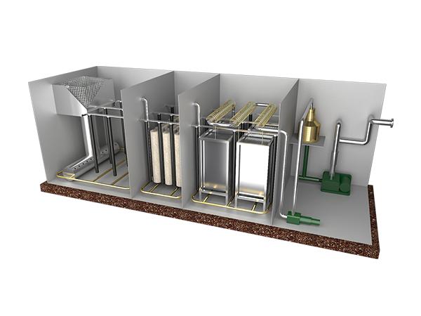 福建地埋式污水处理设备