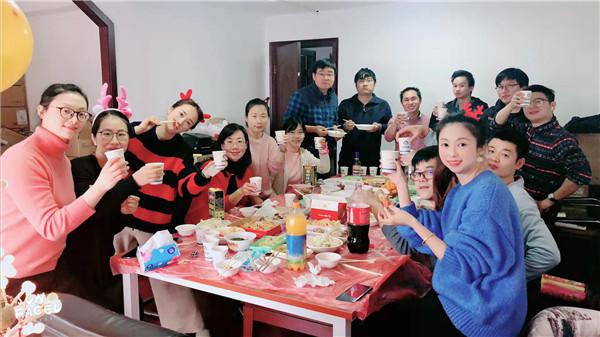 上海海拓信息技术有限公司圣诞聚餐特辑
