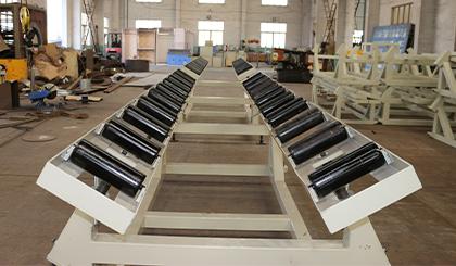 真空定徑生產線中長架式托管車的產品介紹
