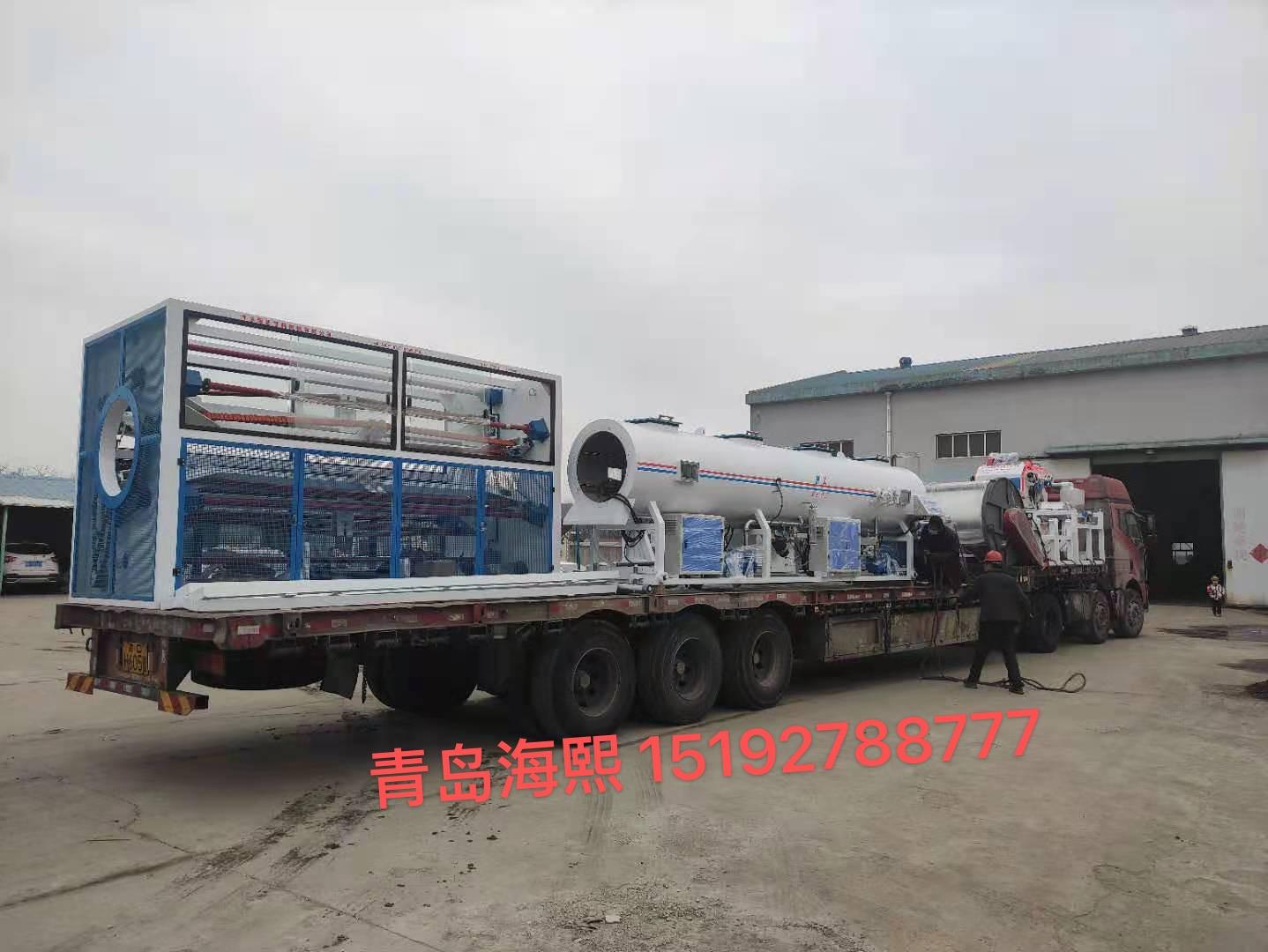 吸引客戶到青島海熙塑機考察保溫管生產線的原因
