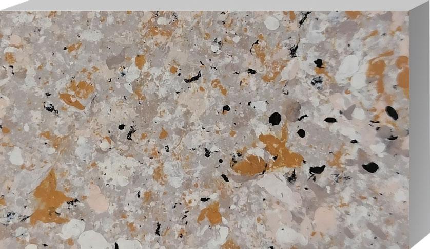 白锈棕多彩水包水 S3108