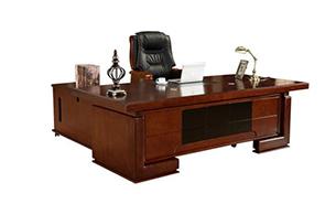 實木烤漆老板辦公桌