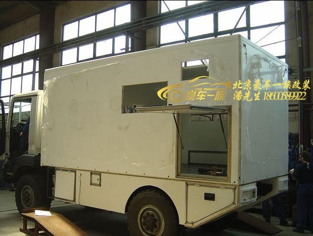 北京专业man卡车改装房车