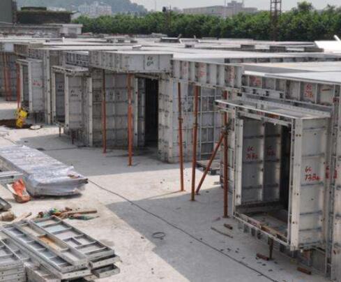 铝模板冬季施工混凝土的拌制