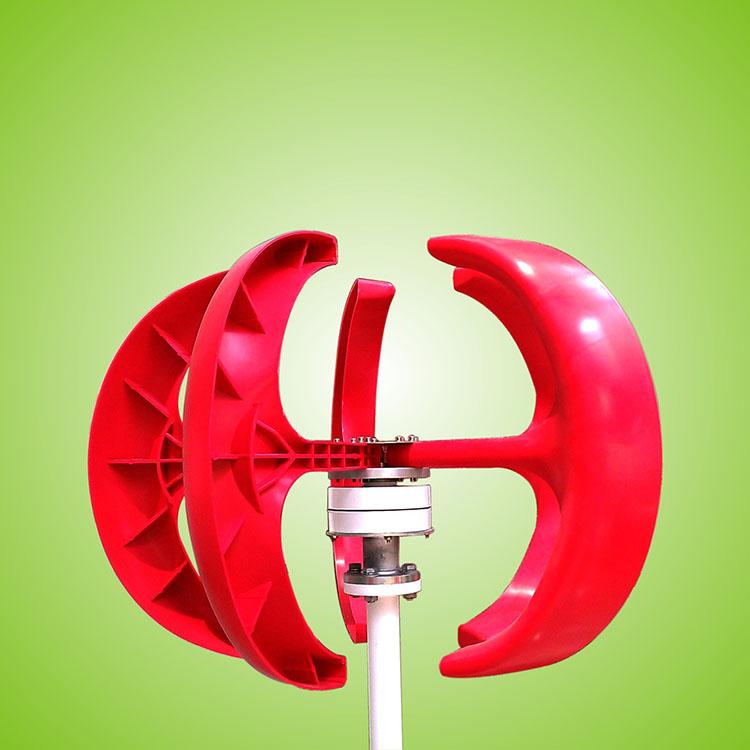 红灯笼:垂直轴风力发电机100W-300W