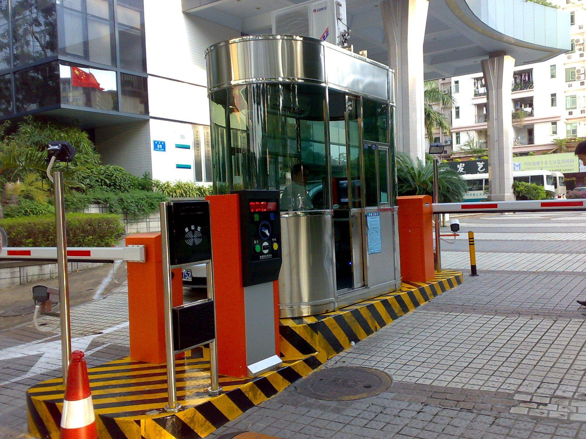 停车场管理系统案例
