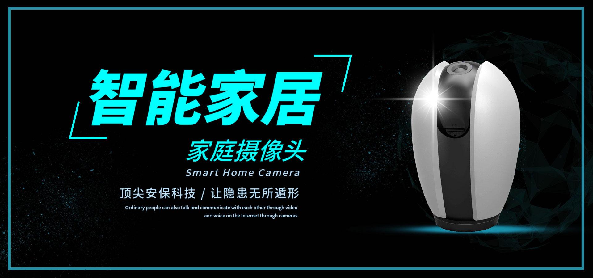 <h4>网络高清摄像头</h4><p>红外夜视、手机远程、防水防尘</p>