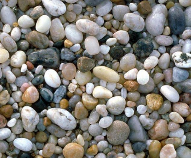 天然五彩鹅卵石