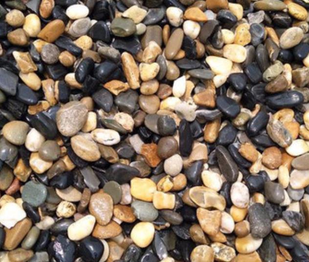 2-3cm五彩鹅卵石