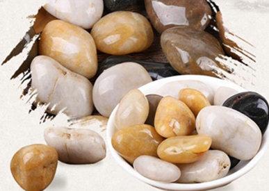 检验鹅卵石成色的标准
