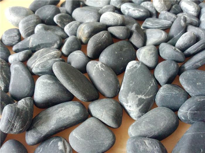 3-4cm黑色鹅卵石
