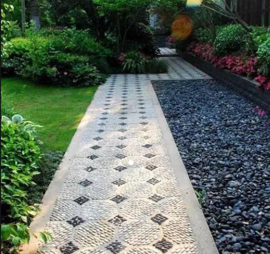 庭院鹅卵石