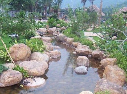 雨花石景观