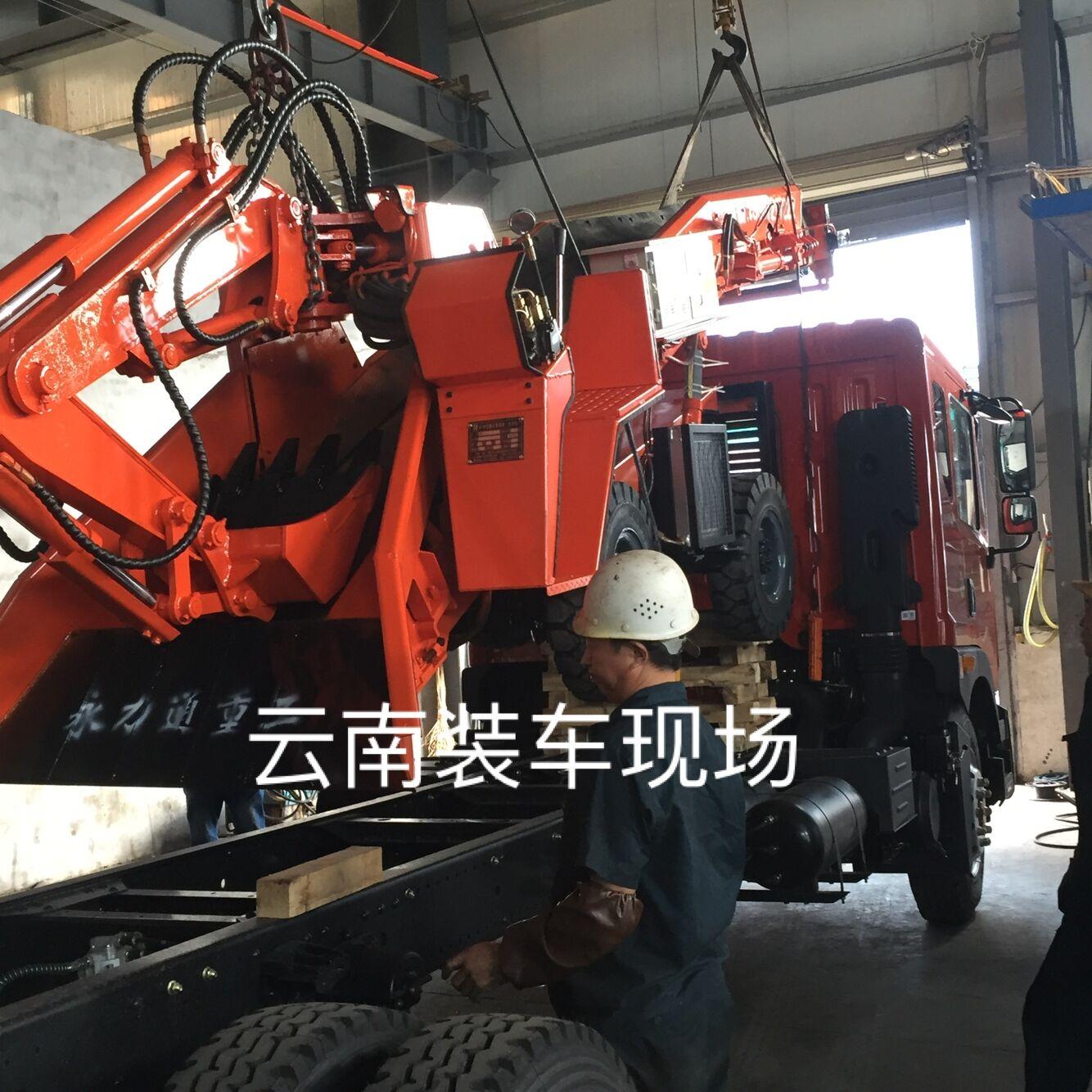 云南水利工程扒渣机