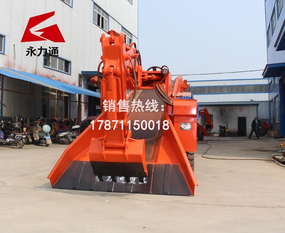 新疆120型轮式扒渣机