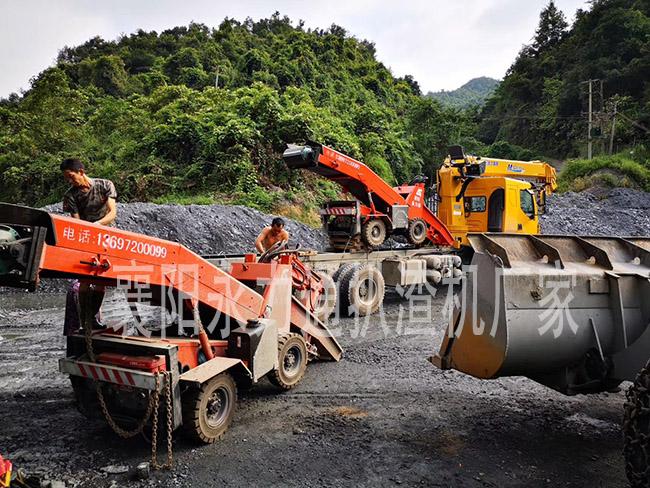 贵州清镇矿用扒渣机皮实耐用,操控性能好,永力通厂家用户重购率高
