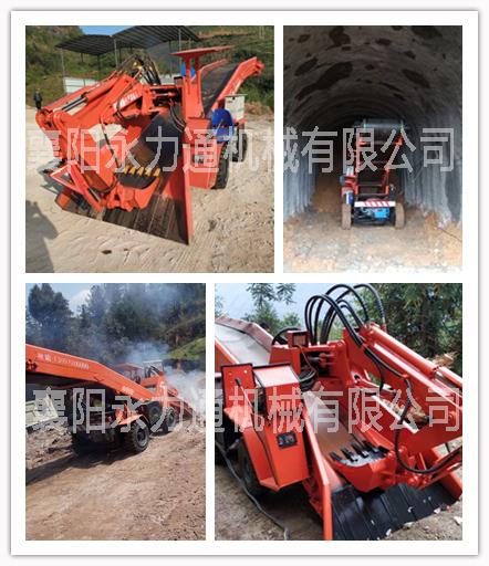 四川矿用轮胎式60型扒渣机价格,60型小型扒渣机多少钱