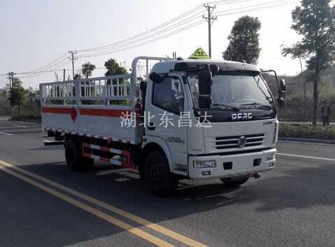 东风6.95吨栏板气瓶运输车