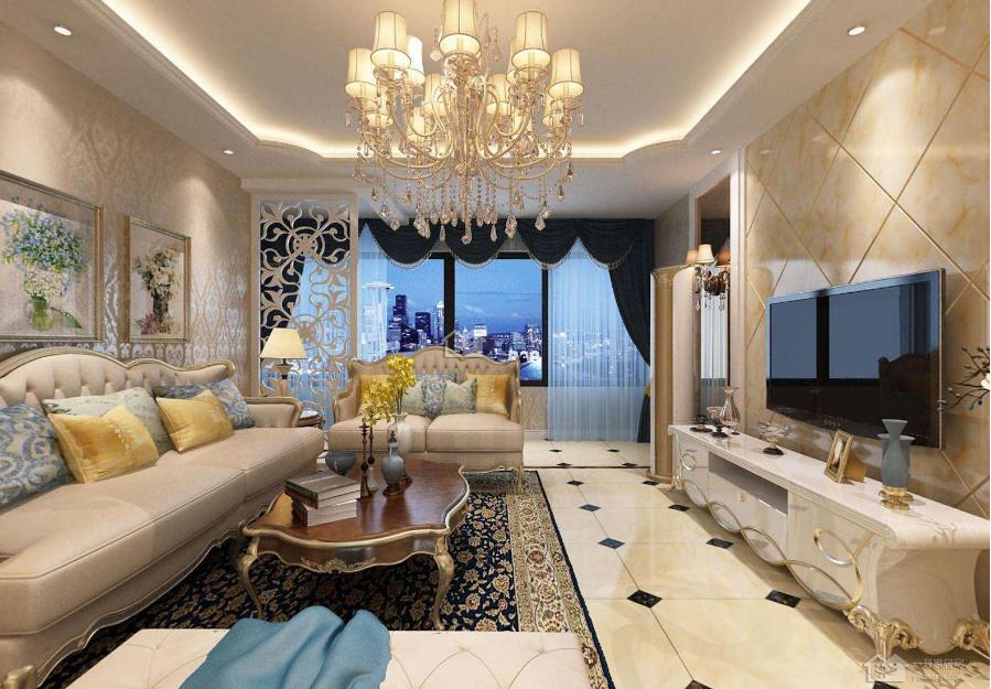 襄阳欧式客厅装修