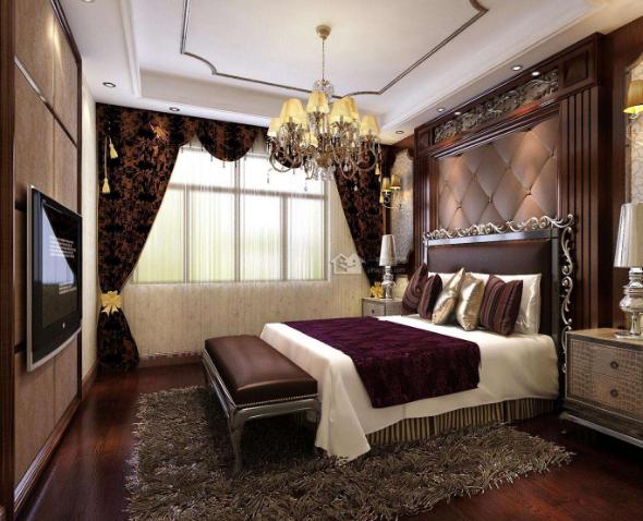 襄阳欧式古典卧室