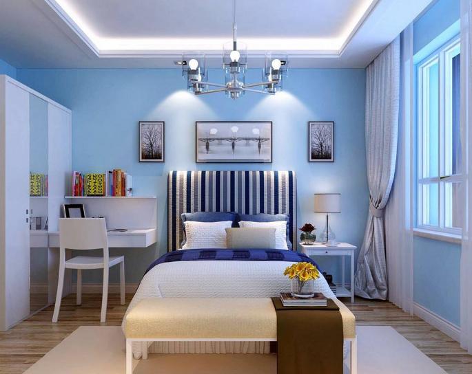 襄阳地中海卧室装修