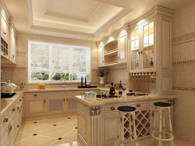 襄阳欧式厨房装修