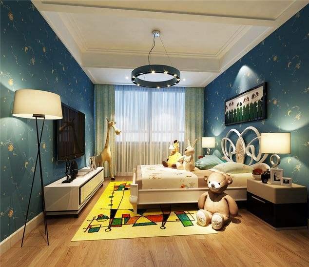 襄阳现代简约儿童房装修